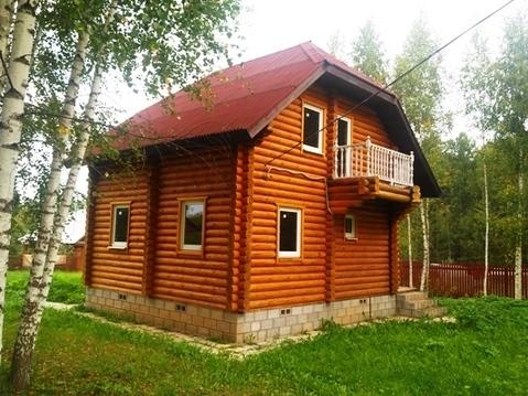 Бревенчатый дом в СНТ вбл. п. Беляная Гора, Рузский городской округ