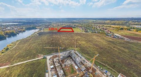Участок для жилищного строительства 2,49 га в Сапроново