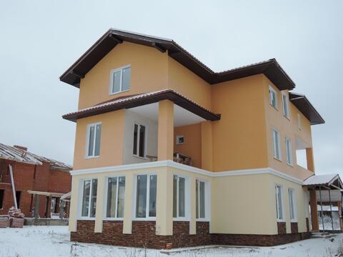 Новый кирпичный дом 350м2 на 9 сотках в 30 км от МКАД Новая Рига