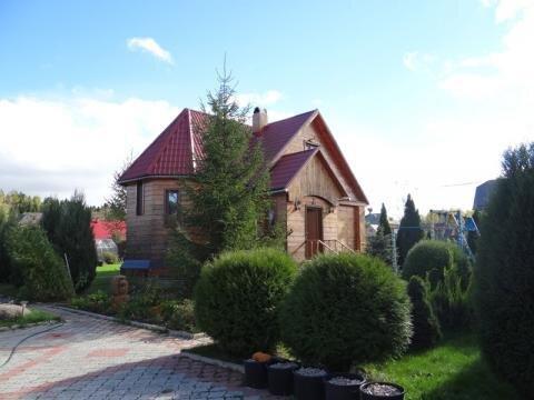 Жилой дом по Дмитровскому шоссе дер. Лупаново в окружении леса