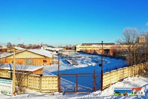 Промышленная земля со складом 2000 кв.м, в г. Можайске, общей площадью