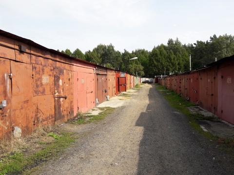 Гараж в Балашихе в мкр-не Южный в ГСК «Южный-2», металлический 3,5*6 м
