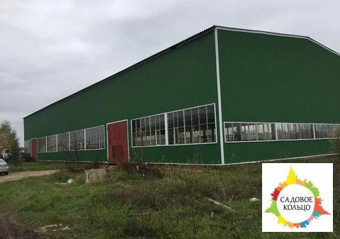 Два складских помещения 1300 и 1500 м2, высота 9 м, в каждом помещении