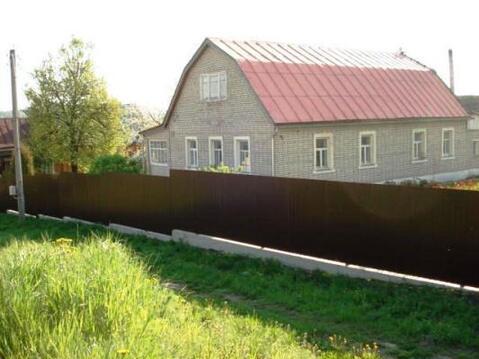 Кирпичный дом на земельном участке 20 соток в д. Крюково, Рузкий р-н