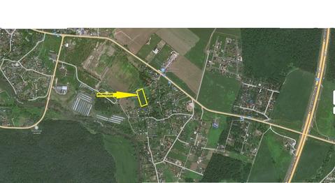 Продается земельный участок, деревня Перхурово, свет, газ, по границе