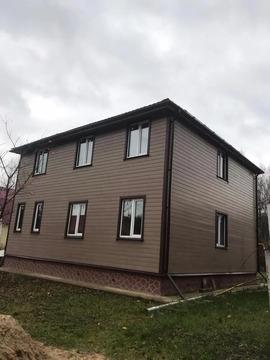 Новый дом в Природе Воскресенский р-н М.О. Свет. Озеро