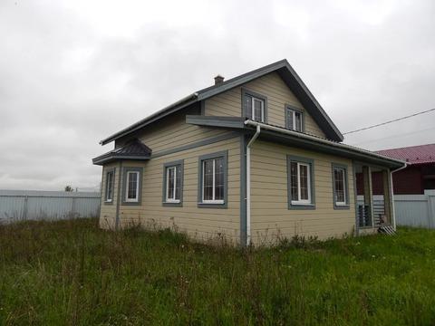 Новый дом 131 кв.м рядом с д. Денисьево
