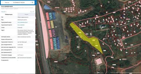 Участок для жилищного строительства 1,58 га в районе д.Ермолино