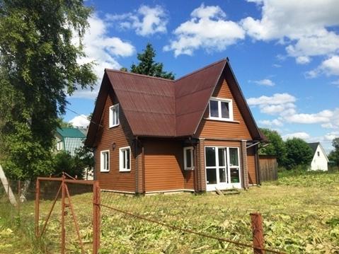 Дом из клеёного бруса, участок 30 соток, Рузский городской округ