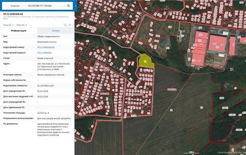 Участок для ИЖС 1 га в районе д.Пуговичино