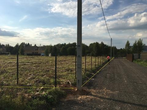 Участок в деревне Похлебайки Истринское вдхр.