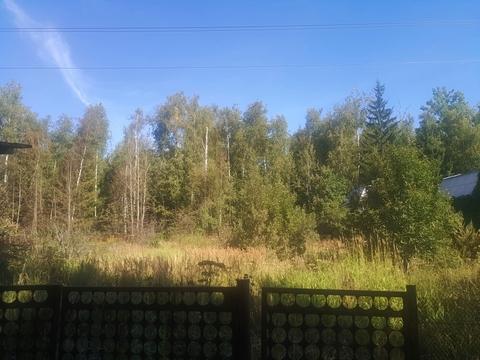 """Участок 7,7 сотки в СНТ """"Роща"""" (ж/д ст. Петелино)"""