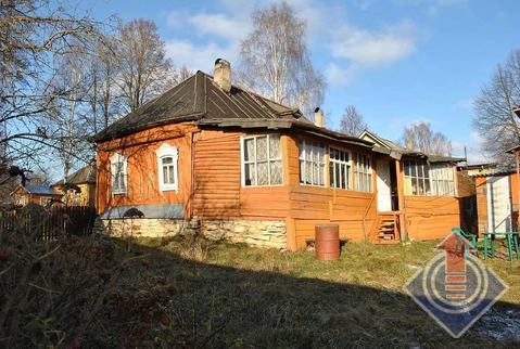Бревенчатый дом 107 м2 на участке 12 соток в д. Рыжково
