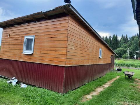 Срочно продается уч. 37 сот. с двумя домиками д.Новокурово Рузский р.