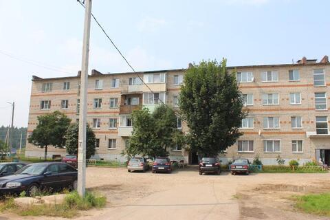 В селе Мокрое, Можайского района трехкомнатная квартира