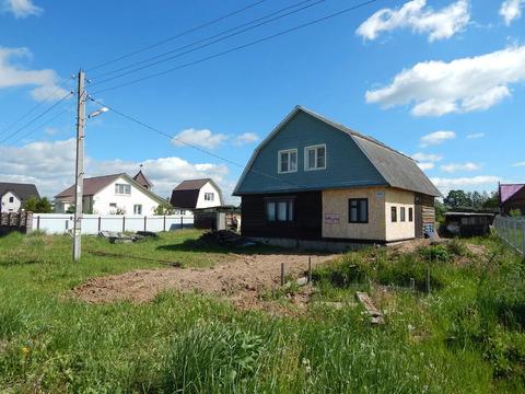 Цена снижена! Бревенчатый дом 130 кв.м. Новоивановское 15 сот земли
