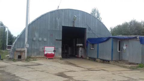 Утеплённый Ангар 815 кв.м под склад или производство