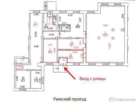 Продажа торгового помещения, Ул. пр.Рижский 9