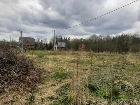 Срочно продается зем.участок 15сот в д.Новокурово Рузский р.