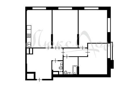 """3-комнатная квартира, 132 кв.м., в ЖК """"Дом в сосновой роще"""""""