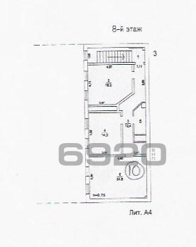 Продается нежилое помещение общей площадью 81,3 кв.м