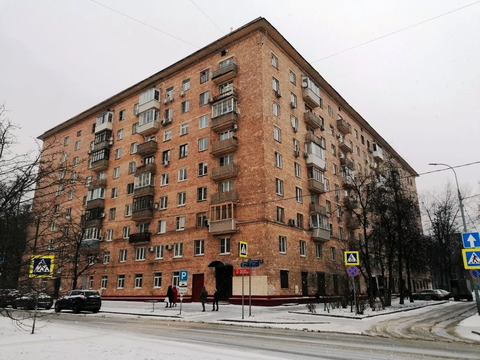3-комнатная Сталинка 78 м.кв. в Хамовниках