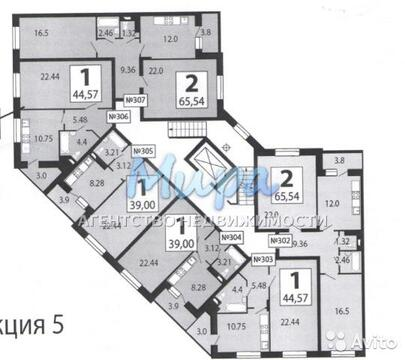 """1-комнатная квартира, 46 кв.м., в ЖК """"Люберецкий"""""""