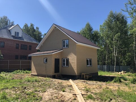 Новый дом, 122 кв.м, пос. Любучаны Чеховский район