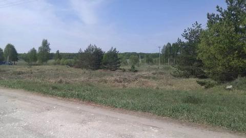 Участок в деревне в Орехово-Зуевском районе.