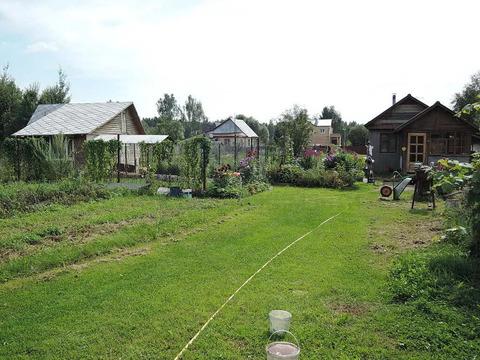 Земельный участок 35х70 с 2-я домиками