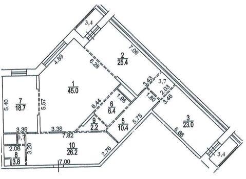 Продажа квартиры, м. Юго-Западная, Ул. Покрышкина