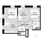 Москва, 3-х комнатная квартира, Волоколамское ш. д.69а к4, 14900000 руб.