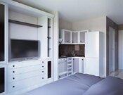 Квартира-студия с дизайнерской отделкой