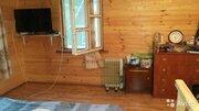 Бревенчатый дом+баня 10сот. черта Сергиев Посада СНТ Первомайское, 1600000 руб.