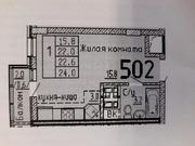 Долгопрудный, 1-но комнатная квартира, ул. Заводская д.14к1, 4000000 руб.