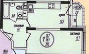 Раменское, 1-но комнатная квартира, Северное ш. д.д.26, 5900000 руб.