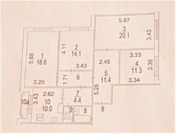 Москва, 4-х комнатная квартира, ул. Знаменские Садки д.11, 19500000 руб.