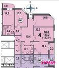 Химки, 4-х комнатная квартира, Молодёжная улица д.63к3, 13800000 руб.