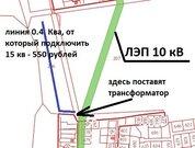 Участки с коммуникациями 35 км от МКАД по Щелковскому шоссе, 500000 руб.